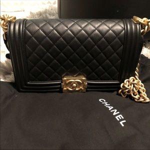 5440790a51b4 Women Chanel Boy Bag Gold Hardware on Poshmark